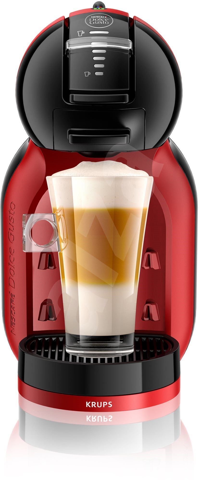 krups kp120h31 nescaf dolce gusto mini me black red capsule coffee machine