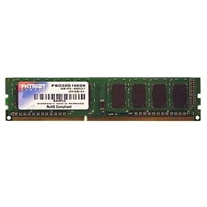 Patriot 2 GB DDR3 1333MHz CL9 Signature Line  - System Memory