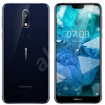 Nokia 7.1 Single SIM Blue