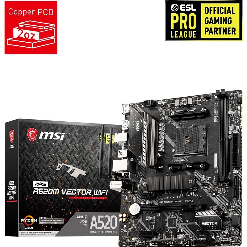 MSI MAG A520M VECTOR WIFI - Motherboard