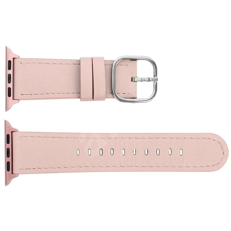 Eternico 42mm / 44mm / 45mm Leather Classic Beige for Apple Watch - Watch Band