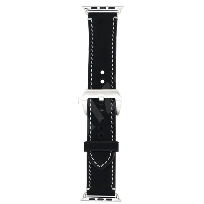 Eternico 38mm / 40mm / 41mm Leather Band 2 Black for Apple Watch - Watch Band