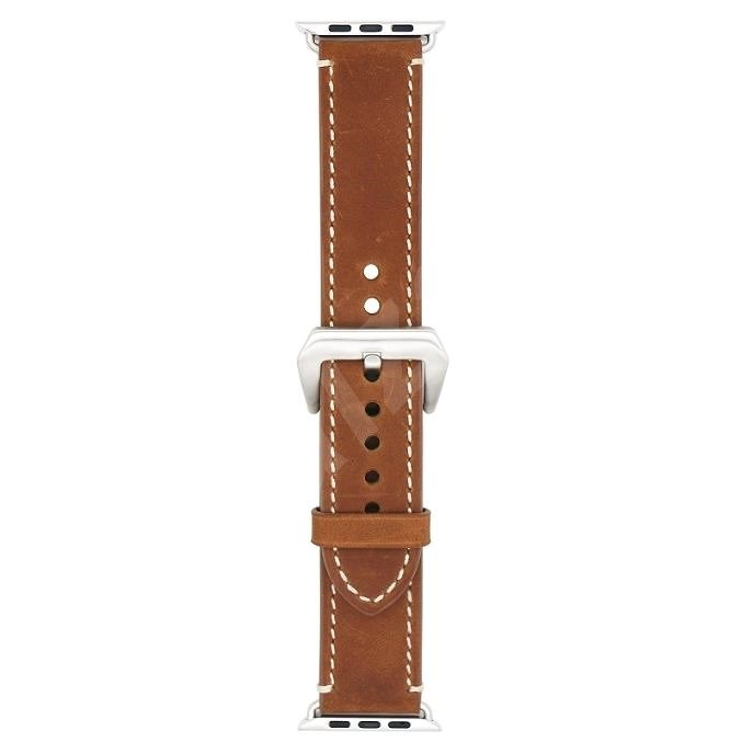 Eternico 38mm / 40mm / 41mm Leather Band 2 Brown for Apple Watch - Watch Band