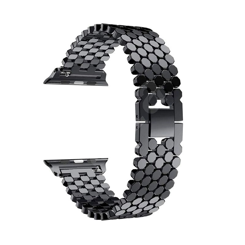 Eternico 38mm / 40mm Metal Band Black for Apple Watch - Watch Band
