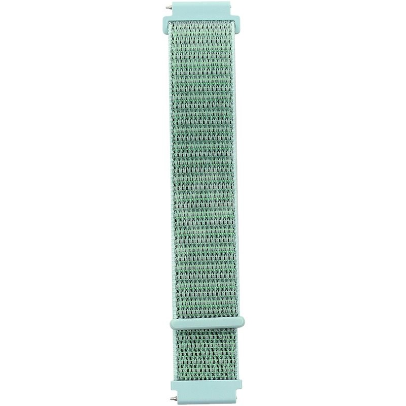 Eternico Nylon Loop universal Quick Release 22mm lime - Watch Band
