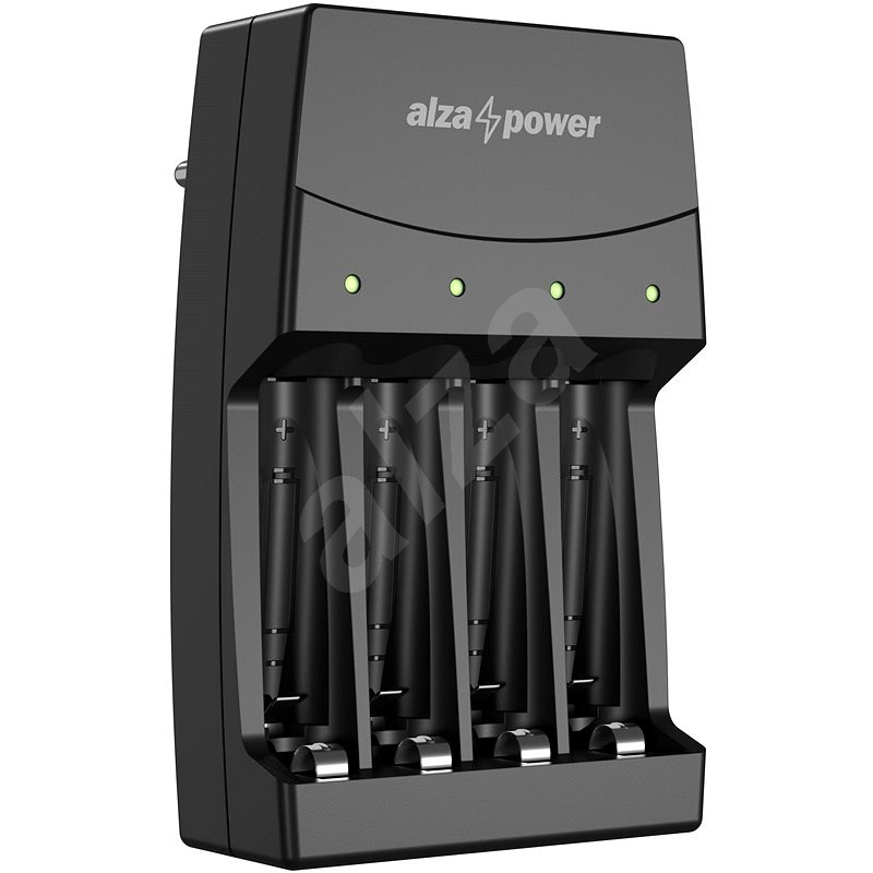 AlzaPower Quadro Charger AP-400B - Battery Charger