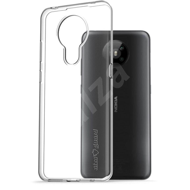 AlzaGuard for Nokia 5.3, Clear - Mobile Case
