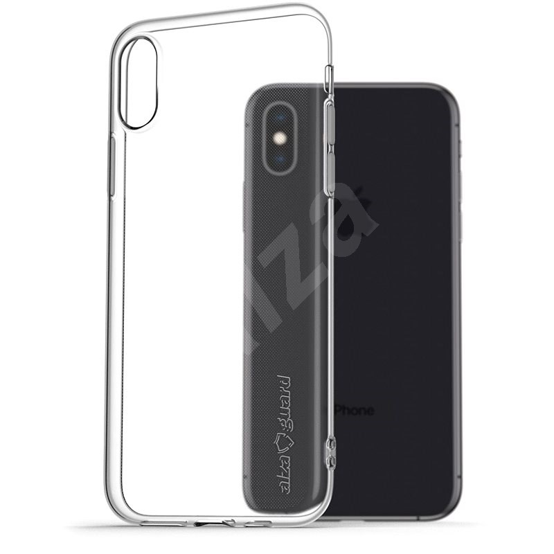 AlzaGuard for iPhone X/Xs Clear - Mobile Case