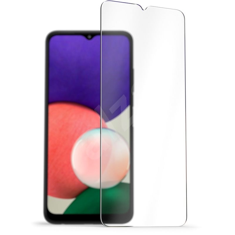 AlzaGuard 2.5D Case Friendly Glass Protector for Samsung Galaxy A22 5G - Glass Protector