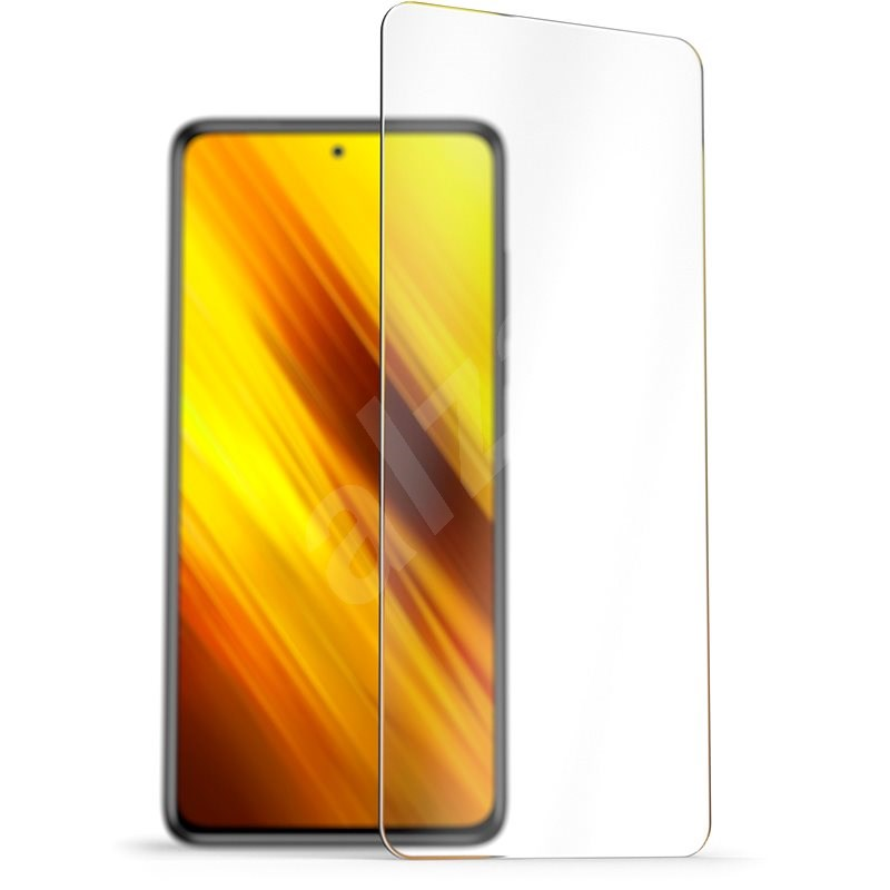AlzaGuard 2.5D Case Friendly Glass Protector for Xiaomi POCO X3 / POCO X3 Pro - Glass Protector