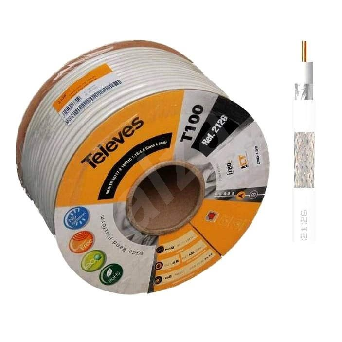 Televés Coaxial Cable 2126-100m - Coaxial cable