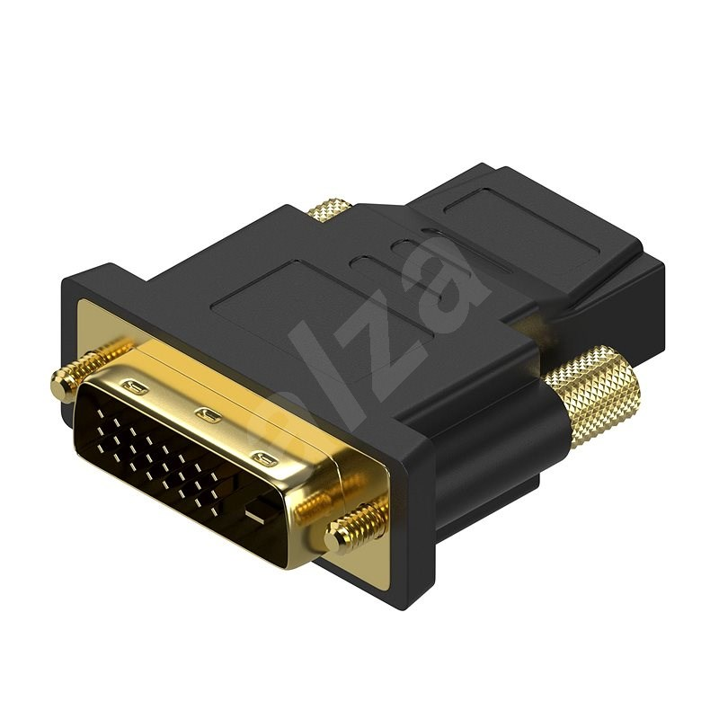 AlzaPower DVI-D (24+1) (M) to HDMI (F) - Adapter