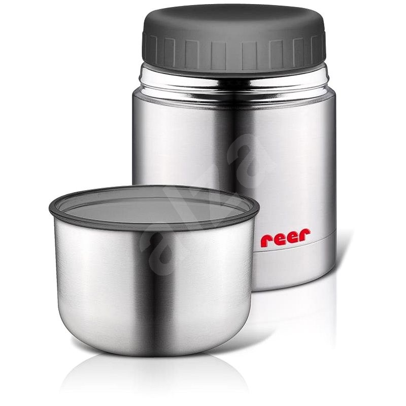 REER Stainless-steel Thermos 350ml Wide Plus - Children's Thermos