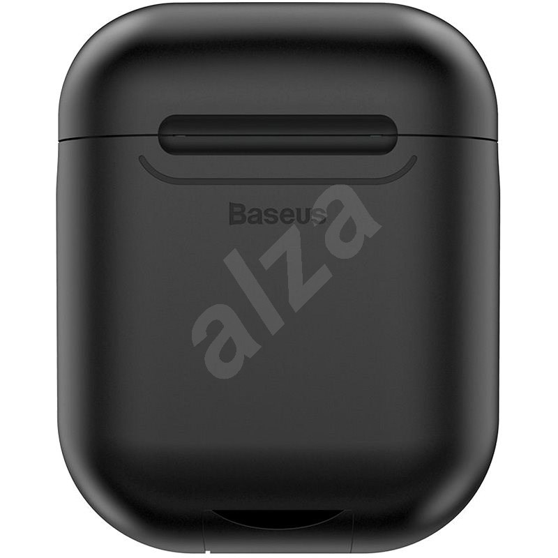 Baseus Wireless Charger Case for Apple AirPods Black - Headphone Case