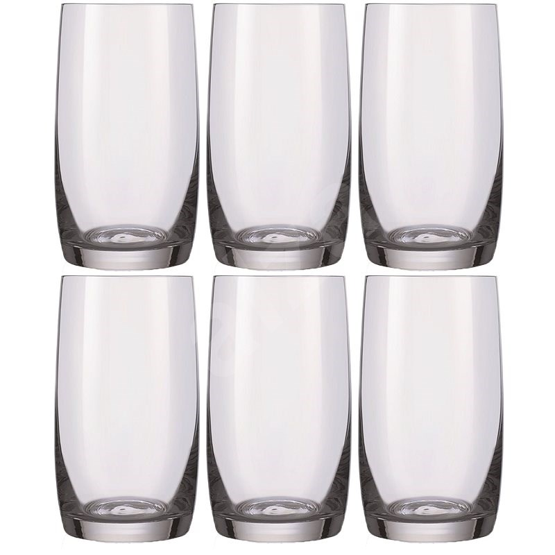 Crystalex Water glasses HB IDEAL 380ml 6pcs - Drinking Glass