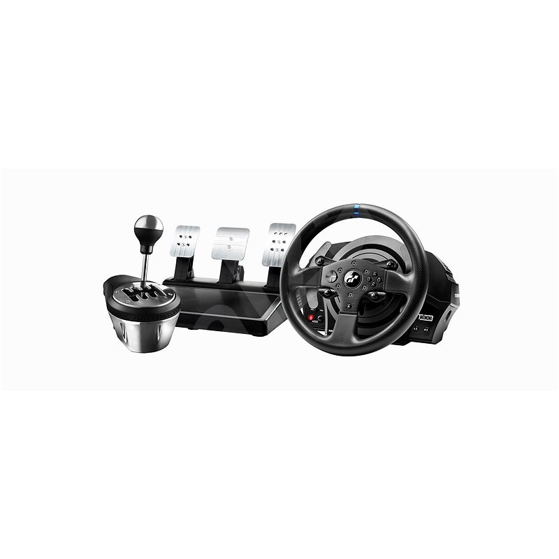 Thrustmaster T300 RS GT Edition + TH8A Add-on Shifter - Steering Wheel
