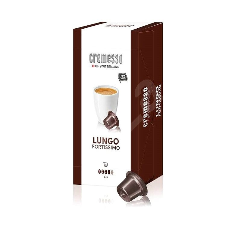 Delica AG Caffé Fortissimo -  Pack of 16 Capsules - Coffee Capsules