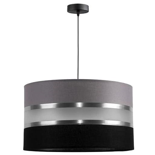 CORAL 1xE27/60W/230V black and grey chandelier - Chandelier
