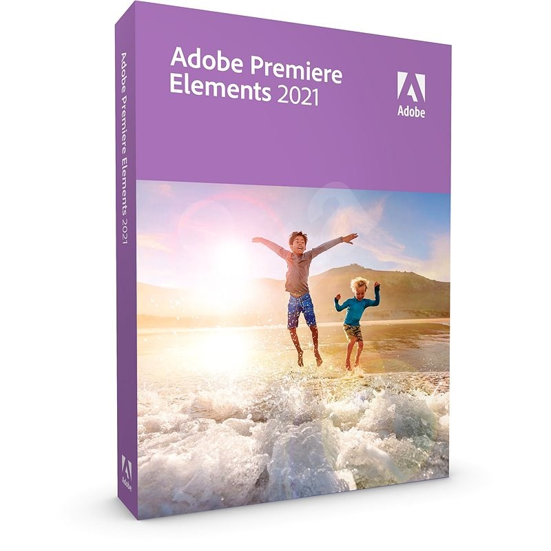 Adobe Premiere Elements 2021 MP ENG upgrade (Electronic License) - Graphics Software