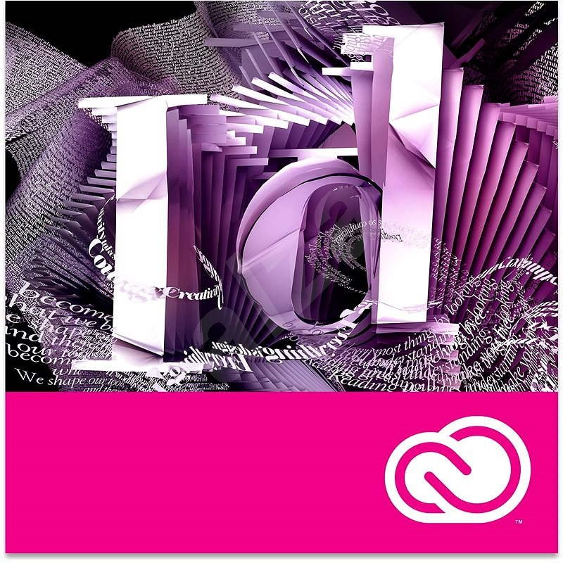 Adobe InDesign Creative Cloud MP ML (incl. CZ) Commercial (12 Months) (Electronic License) - Graphics Software
