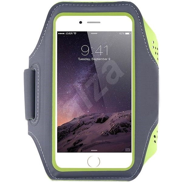 Mobilly Handheld Sports Case, Green - Mobile Phone Case