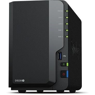 Synology DS220+ 2x2TB RED -  NAS