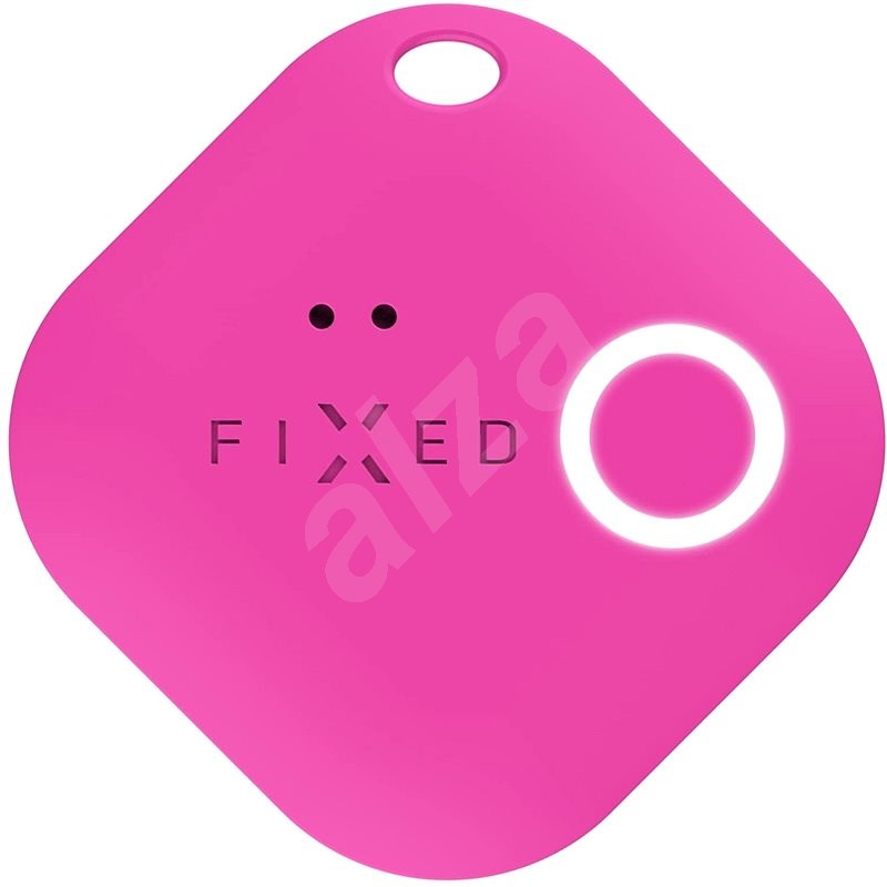 FIXED Smile with motion sensor, pink - Bluetooth Chip Tracker