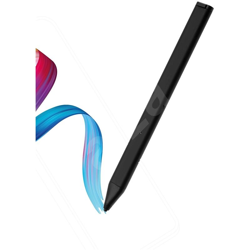 FIXED Pin for Touch Screens with Case, Black - Stylus