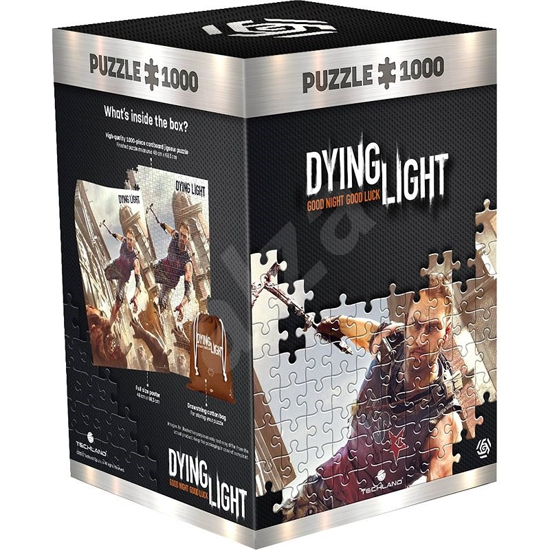 Dying light: Cranes Fight - Good Loot Puzzle - Puzzle