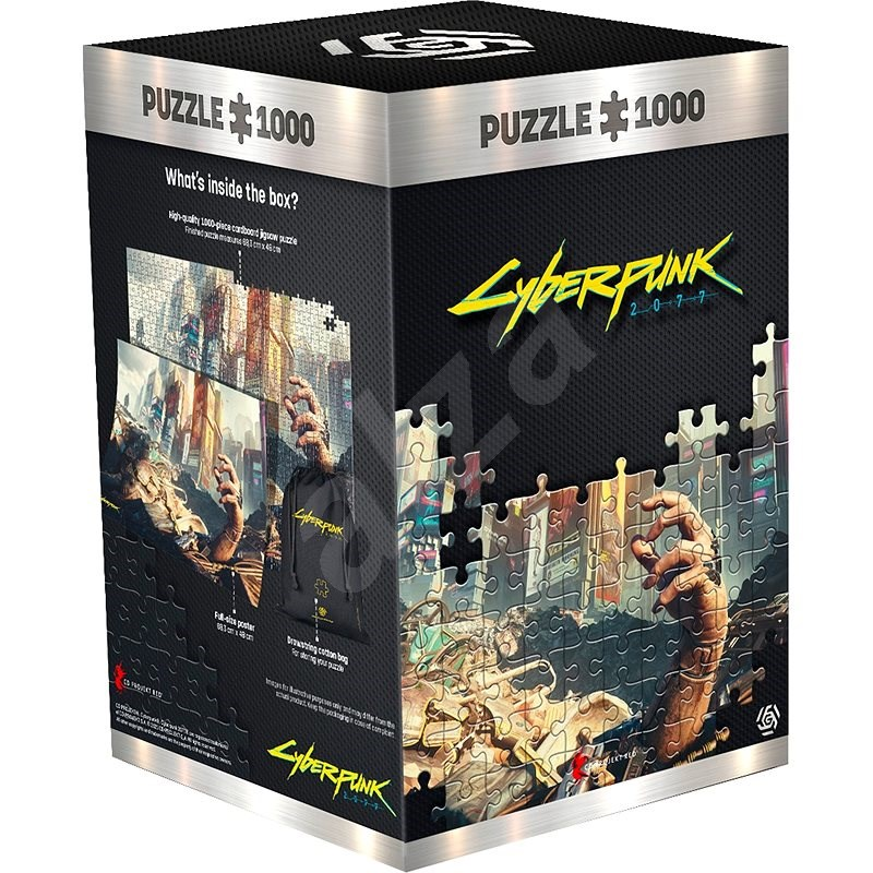 Cyberpunk 2077: Hand - Good Loot Puzzle - Puzzle