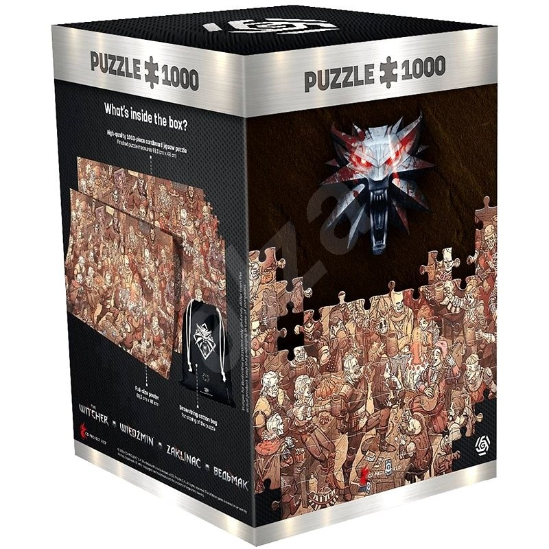 The Witcher: Birthday - Good Loot Puzzle - Puzzle