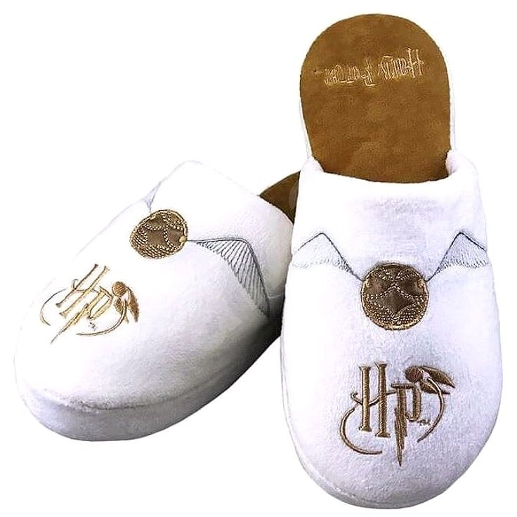 Harry Potter - Golden Snitch - Slippers size 38-41 White - Slippers