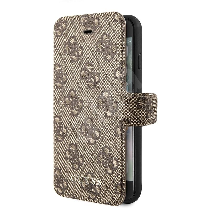 Guess 4G for iPhone 7/8/SE 2020, Brown - Mobile Phone Case