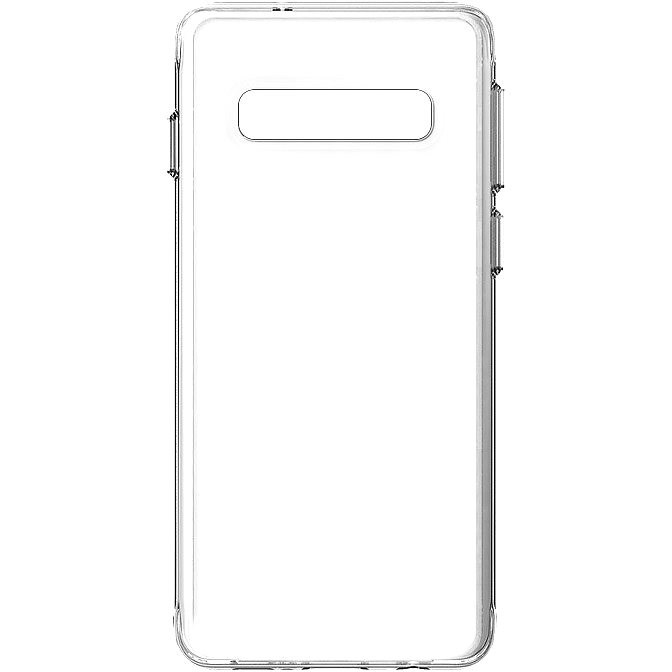 Hishell TPU for Samsung Galaxy S10, Clear - Mobile Case