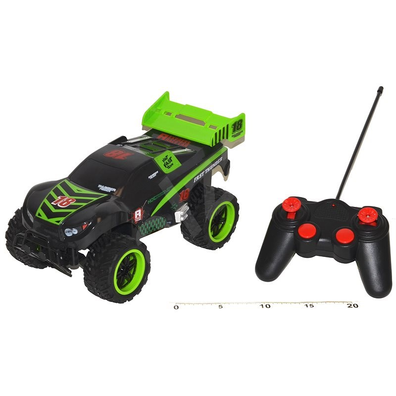 Wiky Fast Thunder Terrain Vehicle with Shining Wheels - RC Remote Control Car