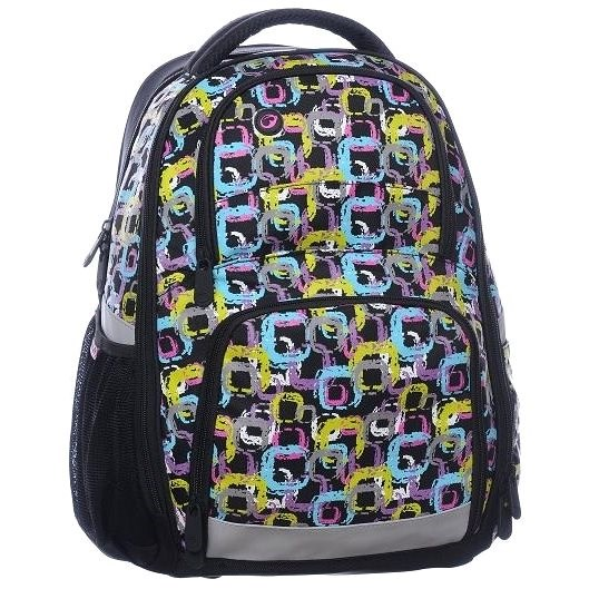 Bagmaster Orion 0115 A Black/Colours - School Backpack
