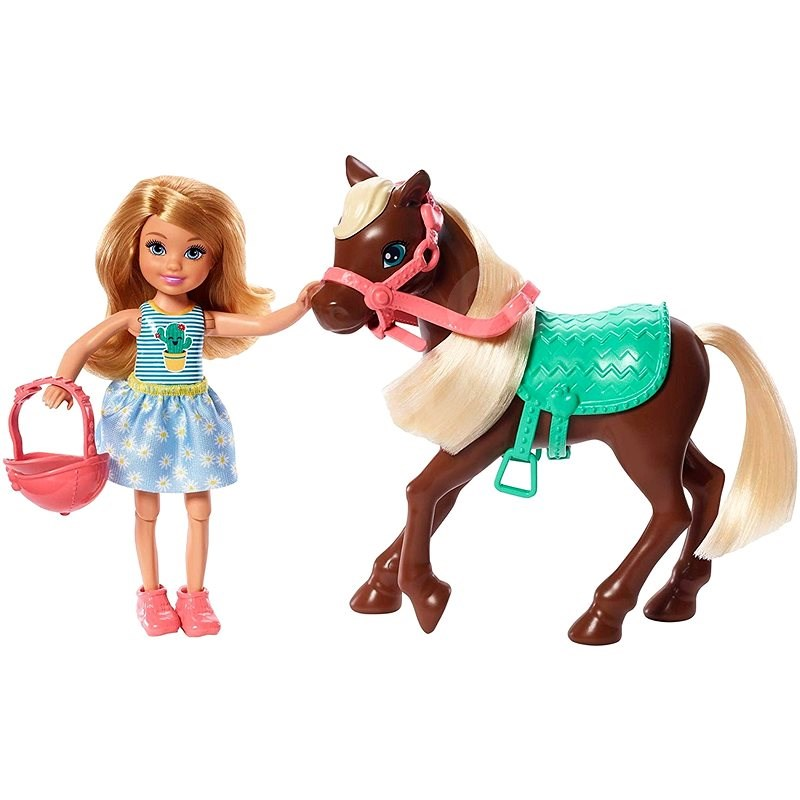 Barbie Chelsea and Pony - Doll