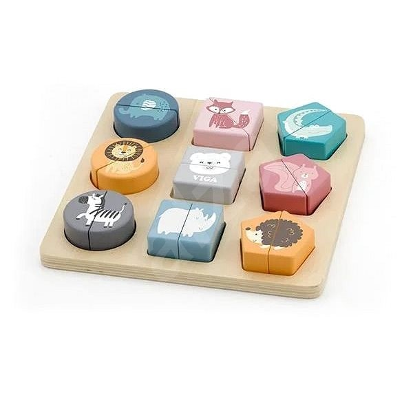 Wooden puzzles for the little ones - Wooden Toy