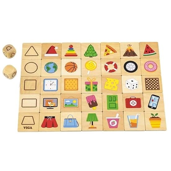 Wooden Puzzles - Shapes - Wooden Puzzle