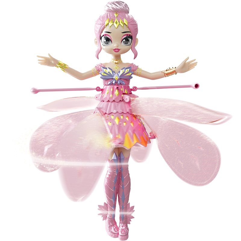Hatchimals Flying Pixie Doll Pink - Figure