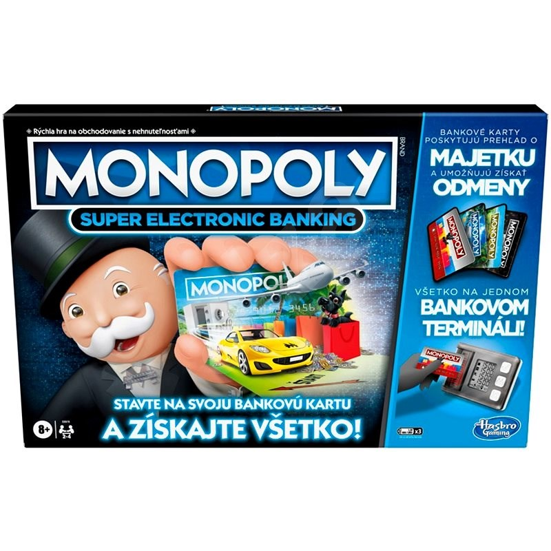 Monopoly Super Electronic Banking SK Version - Board Game
