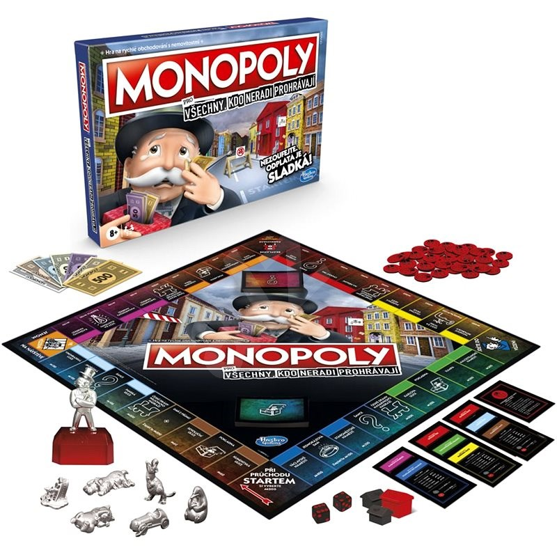 Monopoly for everyone who doesn't like to lose - Board Game