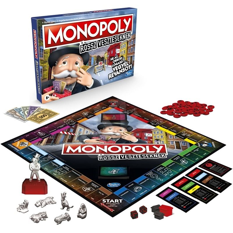 Monopolies for everyone who doesn't like to lose HU version - Board Game