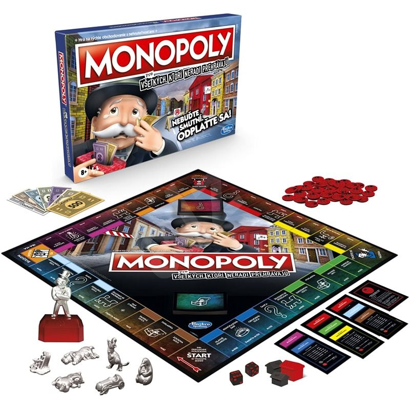 Monopoly for everyone who doesn't like to lose SK versions - Board Game