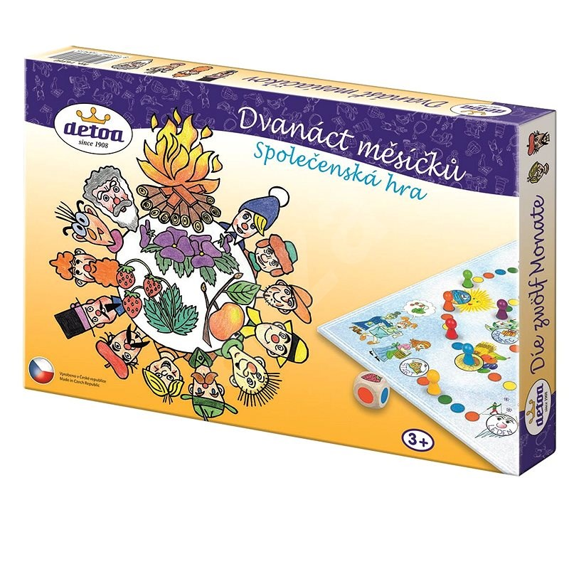 Detoa 12 Months - Board Game
