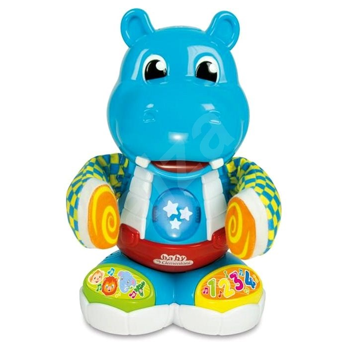 Clementoni Philip, The Dancing Hippo - Interactive Toy