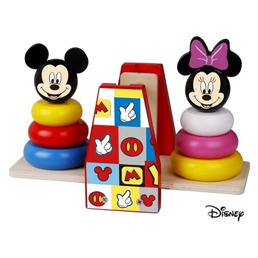 Derrson Disney - A wooden balance game by Mickey and Minnie - Wooden Toy