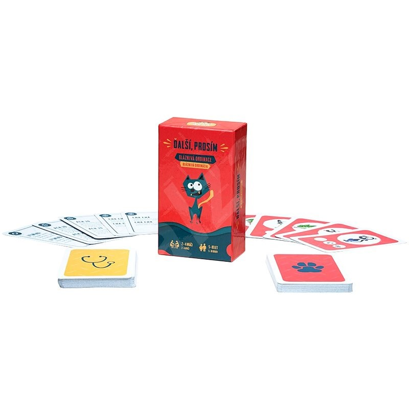 Next Please! - Board Game