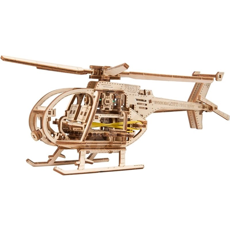 Helicopter - 3D Puzzle