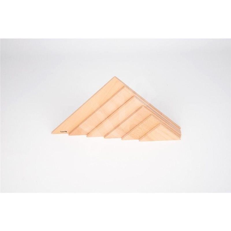 Natural triangle panel - Creative Toy